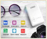 Mini proyector portable con WiFi/Bluetooth para el hogar/la oficina/al aire libre (T6)