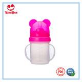 Taza plástica del entrenamiento del bebé con el casquillo 180ml/200ml de Aniaml