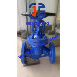 DIN/API Klep uit gegoten staal van de Bol van de Olie van de Verbinding van de Blaasbalg van de Flens Wcb de Industriële