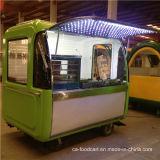 Vendita mobile dell'alimento spinta mano, carrello di approvvigionamento dell'alimento