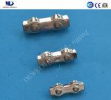 Galv. Clips malléables de câble métallique du bâti DIN1142