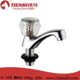 熱い販売の現代プラスチックハンドルの洗面器の柱の蛇口(ZS0708)