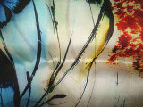 印刷のオーガンザの絹のサテンファブリック