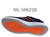 Chaussures en tricot à trois couleurs