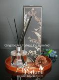 Diffusore della canna del diffusore dell'aroma della bottiglia di vetro con i bastoni di Ratten per fragranza domestica