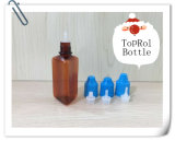 25ml Pet Brown Triangular Bottle для Filling Eliquids/Oils