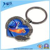 Metal Keychain de la Corazón-Dimensión de una variable de la sublimación para la venta