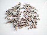 Petite pièce de poinçon estampée de galvanoplastie personnalisée de matériel en métal