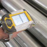 DIN4925 estándar de acero inoxidable 304 Tema del pozo de agua de la pantalla / pantalla Johnson