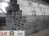 100mmx50mm Black Rectangular Steel Pipe