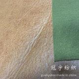 Tessuto della pelle scamosciata di trattamento dell'oro della stagnola per il sofà