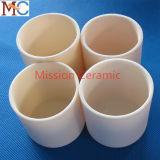 Crisol de cerámica 1800c de alta temperatura