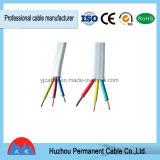 Tipo aislado PVC solo cable de cobre puro sólido de BVV