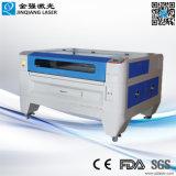 Il laser di Jinan incide la macchina del taglio per legno acrilico di cuoio