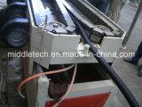Mangueira de parede única / Linha de produção de tubos de canos corrugados PE / PP de jardim