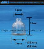 Tarro de cristal hermético de la raya vertical para las salmueras