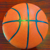 Baloncesto barato de Desgastar-Resistencia modificado para requisitos particulares baloncesto de la PU de la calidad 8pieces 4#5#6#7# Sg5126