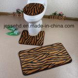 Insieme eccellente della stuoia di bagno del panno morbido 3piece di PV di stampa di stile