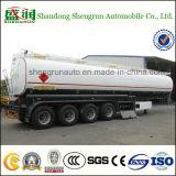60000 litres 4 d'axes de carburant de bas de page chimique de bidon
