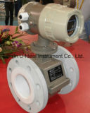 Contatore magnetico elettromagnetico per combustibile, cemento, acque luride