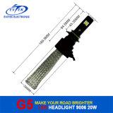 신제품 2016년 LED 전구 20W 2600lm 9006 의 LED 자동 헤드라이트, LED 헤드라이트 전구