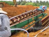 Máquina de processamento mineral espiral do separador para a lavagem do minério