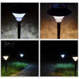 Fackel-Dekoration-Pfad-Lampen-Yard-Rasen-Licht-Wand-Landschaftsmontierungs-Zaun-Qualität des Solarlampen-Garten-Licht-im Freien kampierende LED