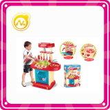Meninas Pretend Toy Tabela Dresser plástico com Beaty Set Toy