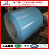 PPGI Prepainted a tira de aço revestida cor galvanizada da bobina