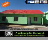 Villa prefabbricata modulare del panino della serra