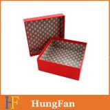 Rectángulo de empaquetado de lujo decorativo CD/VCD del regalo de papel cosmético de la joyería/del reloj