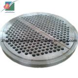 Лист трубы плиты пробки Tubesheet вковки (ZH-TP-003)