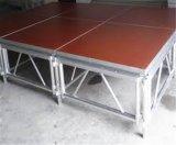 Fase mobile portatile di alluminio di concerto di qualità di Hight da vendere