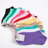 Calcetines cortos baratos ocasionales del tobillo del barco escotado de señora Women