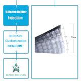 Verhoogde Binnenzolen van de Schoen van het Silicone van de Punten van de Kleding van de Producten van het Silicone van China de Fabrikant Aangepaste Lift