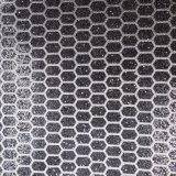 Couro gravado da bolsa do plutônio do Glitter couro artificial Shining