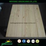 Placa de pino ranurado para decoración o muebles