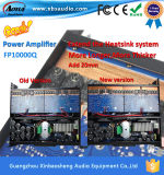 4channels 3年の保証が付いている可聴周波専門の電力増幅器Fp10000q
