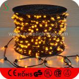 Lumières de clip de Noël 1000LEDs de la basse tension 100m de DC12V pour la décoration d'arbre