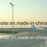 Интегрированный солнечное изготовление уличного света СИД для напольного 8W