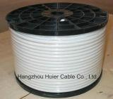 Câble de télévision par câble de télévision en circuit fermé du câble coaxial de liaison CATV du fil RG6 de câble en bloc du câble RG6 de Statellite