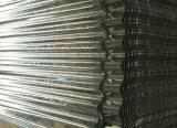 Chapa de aço galvanizada galvanizada da telhadura folha de aço ondulada