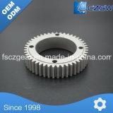 De aluminio personalizado engranaje de transmisión del engranaje cilíndrico para distintos dispositivos