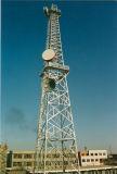 Radio et tour unipolaire de micro-onde d'émissions TV