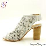 Два цвета Секс Мода высоких каблуках женщины дамы Сандалии для социально Бизнес Sv17s001-01-W
