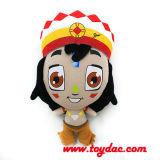 2014 muñeca impresa rellena África
