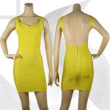 Weißes v-Stutzen-Kleid-Beleg-Paket-Hip Minifußleiste