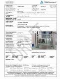 Geländer-Glasbefestigungen für Balustrade und Handläufe