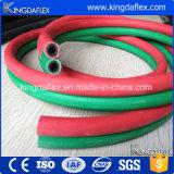 Salida de goma flexible mezclada SBR del oxígeno del manguito del gas natural