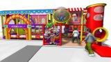 Оборудование спортивной площадки опирающийся на определённую тему детей цирка занятности Cheer крытое